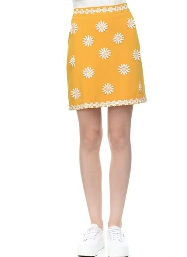 DANITY Mini Etek Sarı